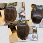 旅行で色が抜けても髪質改善ノアカラーでうるツヤな髪に。